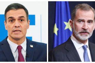"""El Rey da la cara por los empresarios ante la inoperancia de Sánchez: """"Os necesitamos"""""""