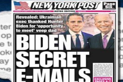 The New York Post denuncia a Facebook y Twitter por bloquear un artículo que critica a Joe Biden