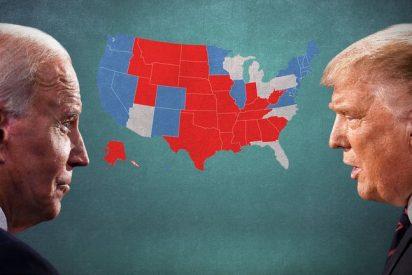 Trump vs Biden: los 7 estados que van a decidir quién ocupa la Casa Blanca y quién lidera en cada uno