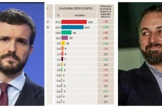 Encuesta ABC: El PP se pega un castañazo tras la fulminación de Cayetana, VOX se dispara y la pandemia beneficia a PSOE y Podemos