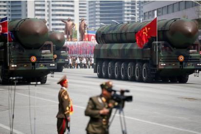 Corea del Norte presume de misil balístico intercontinental para mostrar su poderío militar