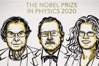 Los tres eruditos del agujero negro ganan el Nobel de Física