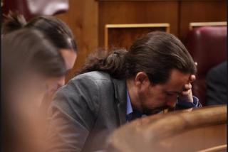 """""""¡Dimisión, dimisión!"""": Los estruendosos gritos en el Senado contra Pablo Iglesias"""