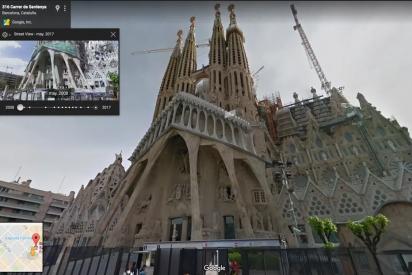 Los favoritos de Google Street View: La Sagrada Familia (Barcelona) y la Estación Espacial Internacional
