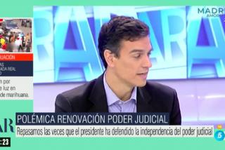 Ana Rosa Quintana hunde a Pedro Sánchez: emite un vídeo que lo fulmina en 15 segundos