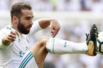 Real Madrid: Dani Carvajal KO por una fuerte lesión en la rodilla
