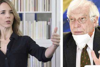 Álvarez de Toledo 'despedaza' a Borrell y cita a Vargas Llosa para dejarlo como un «racista»