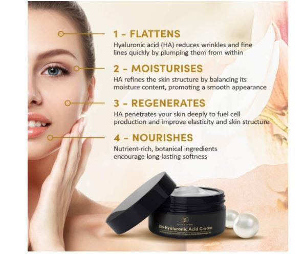 Satin naturel-Crema Facial de Acido Hialuronico