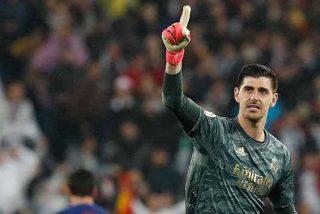 Las dos paradas imposibles de 'la muralla' Courtois para salvar al Real Madrid