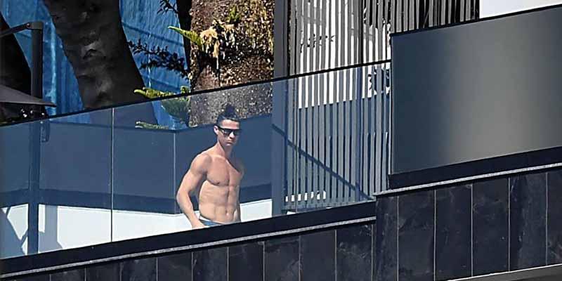 Asaltan la casa de Cristiano Ronaldo en Madeira y los ladrones se llevan un 'asombroso' botín