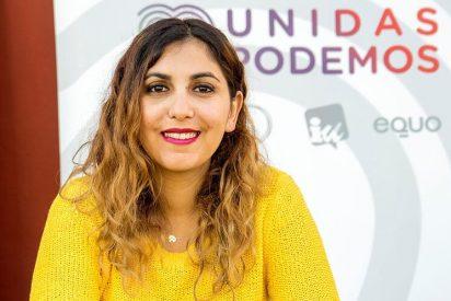 """Dina Bousselham se pavonea de los ataques a los periodistas desde su panfleto podemita: """"Seguiremos señalándoles"""""""