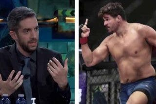 Un luchador español de la UFC ridiculiza a Broncano en su propio programa