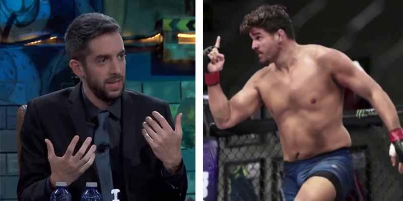 """Un luchador español de la UFC ridiculiza a Broncano en su propio programa: """"Si yo ahora mismo te suelto una hostia..."""""""