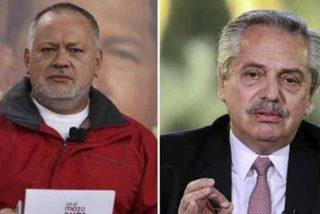 Diosdado Cabello pide al kirchnerismo presionar al presidente de Argentina para que normalice las relaciones con la dictadura