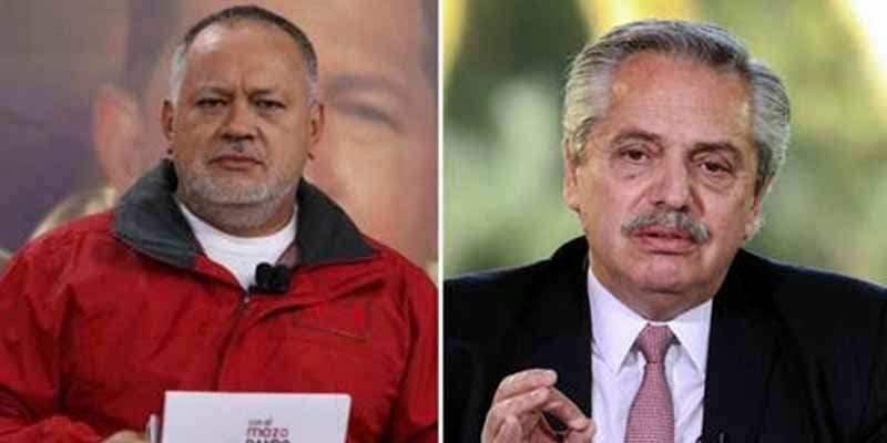 Diosdado pide al kirchnerismo presionar al presidente de Argentina para que normalice las relaciones