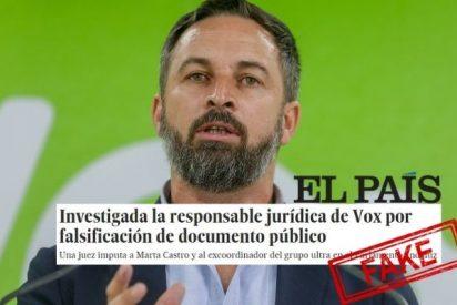El País, creador de fake news, vuelve a la carga contra VOX y le devuelven una dura advertencia
