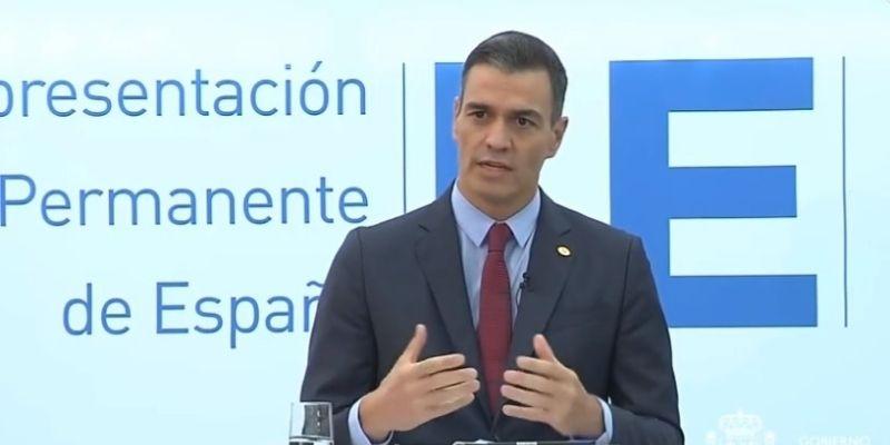 Sánchez suelta que el sistema actual de pensiones es sostenible