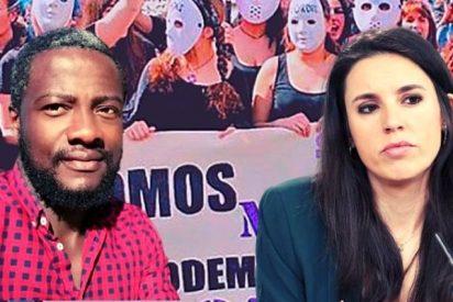 """Ndongo (VOX) zahiere a Montero por dar lecciones a las mujeres: """"Me tiro al jefe y me pone de ministra"""""""