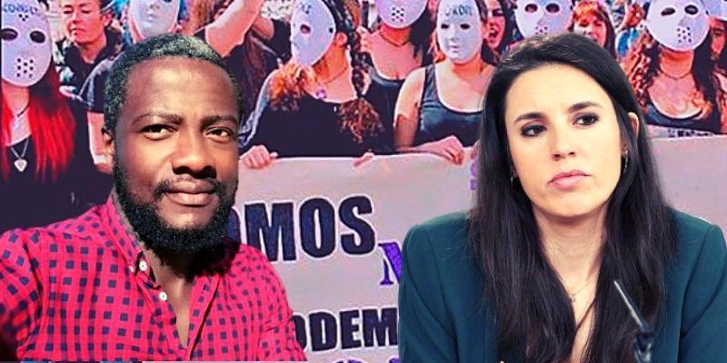 """Bertrand Ndongo (VOX) zahiere a Irene Montero por dar lecciones a las mujeres: """"Me tiro al jefe y, me pone de Ministra"""""""