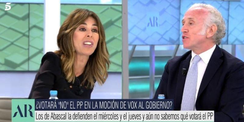 """Inda deja KO a una exaltada Terradillos en Telecinco: """"¡Tú no digas lo que yo soy, no tienes ni idea!"""""""