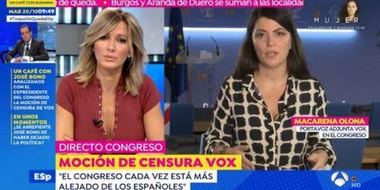 Macarena Olona (VOX) abochorna a los diputados de PSOE, Podemos y afines por votar a favor de subirse el sueldo