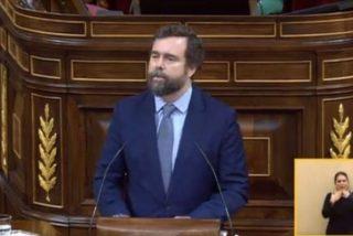 """Espinosa de los Monteros se rompe en la tribuna al hablar de Abascal: """"Tu padre te mira desde el cielo con orgullo"""""""