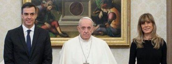"""El contundente mensaje del Papa a Sánchez: """"Es muy triste cuando las ideologías se apoderan de una nación"""""""