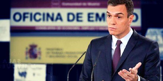 España: la ineptitud del Gobierno y el rebrote de coronavirus dejan sin empleo a 355.000 trabajadores y elevan el paro al 16,3%