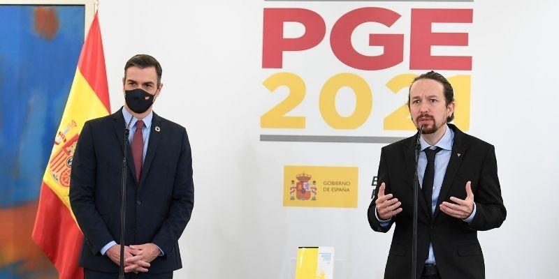 Sánchez e Iglesias suben impuestos a las empresas para pagar su derroche mientras España se arruina