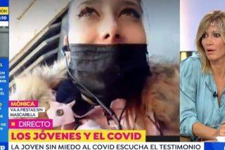 Salvaje enfrentamiento entre Susanna Griso y la negacionista que sale de fiesta sin mascarilla