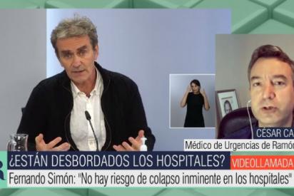 """El doctor Carballo revienta el discurso 'buenista' de Simón: """"Estoy muy preocupado con la subida en los datos"""""""