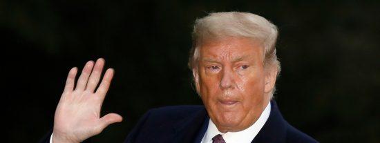 """Donald Trump es ingresado en el hospital para curarse del coronavirus: """"Estoy muy bien"""""""
