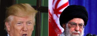 """Trump advierte a los ayatolás de Irán que no """"jodan"""" a EEUU o les hará """"cosas que nunca antes se han hecho"""""""