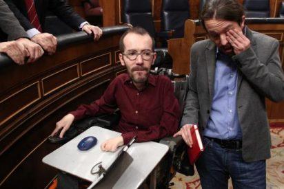 """El patético argumento de Echenique para salvar al investigado Iglesias: """"Van contra quien ha subido el SMI"""""""