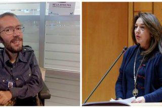 Echenique pone en la diana a la senadora del PP que hundió en el barro el feminismo de pega de Irene Montero