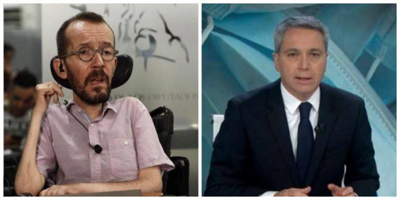 Echenique pone en la diana morada a Vallés por denunciar el acoso a Felipe VI en el Congreso