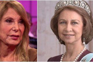Una amargada Pilar Eyre insulta de forma cutre y miserable a la Reina Sofía