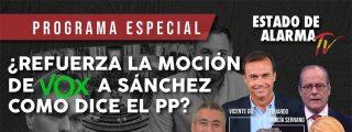 TERTULIA / ¿Refuerza la moción de censura de VOX a Sánchez como dice el PP?