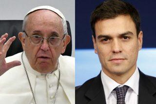 Sorpresa en el Vaticano: el Papa Francisco advierte al socialista Sánchez de que la política no es cuestión de trampas
