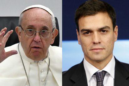 Sorpresa en el Vaticano: el Papa Francisco advierte a Sánchez de que la política no es cuestión de trampas