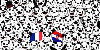 Reto Viral: ¿Eres capaz de encontrar en 10 segundos el balón de fútbol entre los osos panda?