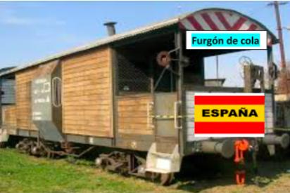 """Manuel del Rosal: """"En el tren de Europa viajamos en el furgón de cola"""""""