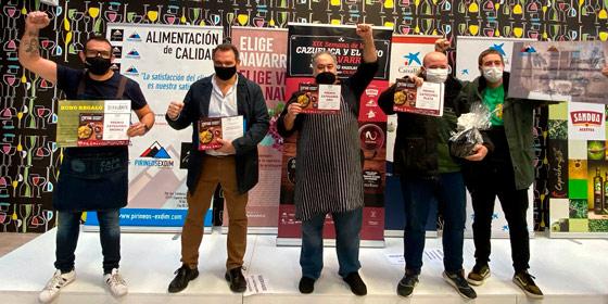 Ganadores de la XIX Semana de la Cazuelica y el Vino D.O. Navarra