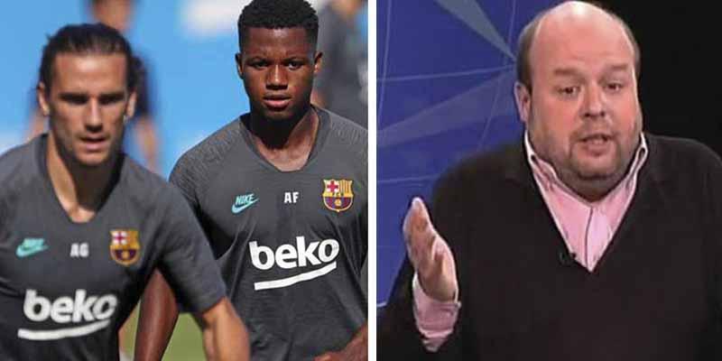 """Antoine Griezmann salta contra Sostres por sus dislates en ABC con Ansu Fati: """"No al racismo ni a la mala educación"""""""