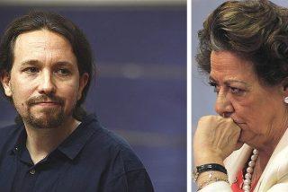 Las ofensivas palabras de Iglesias sobre Rita Barberá que ahora le queman la boca