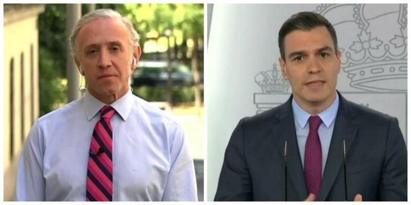 """Eduardo Inda: """"Sánchez se sube el sueldo a la par que destruye en España 800.000 empleos"""""""