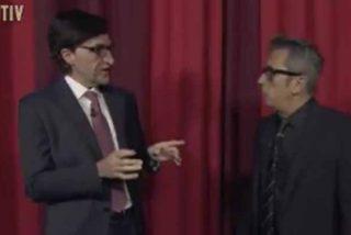 """La brutal imitación de Salvador Illa en Late Motiv: """"Se cierra el telón, se cierra el teatro, se cierra Madrid, fin"""""""