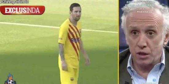 """Inda saca trapos sucios del Barça: """"Messi ha roto su relación con Piqué"""""""