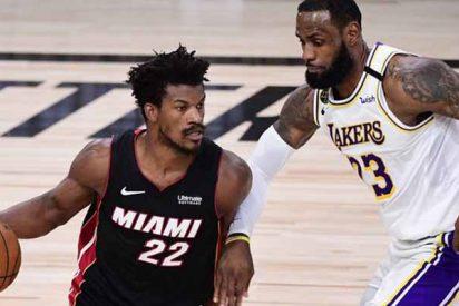 """Jimmy Butler tras vencer a los Lakers: """"Me da igual el triple-doble, solo quiero ganar"""""""