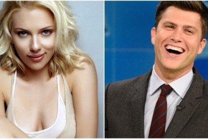 Scarlett Johansson se casa por tercera vez con el humorista Colin Jost en una boda secreta
